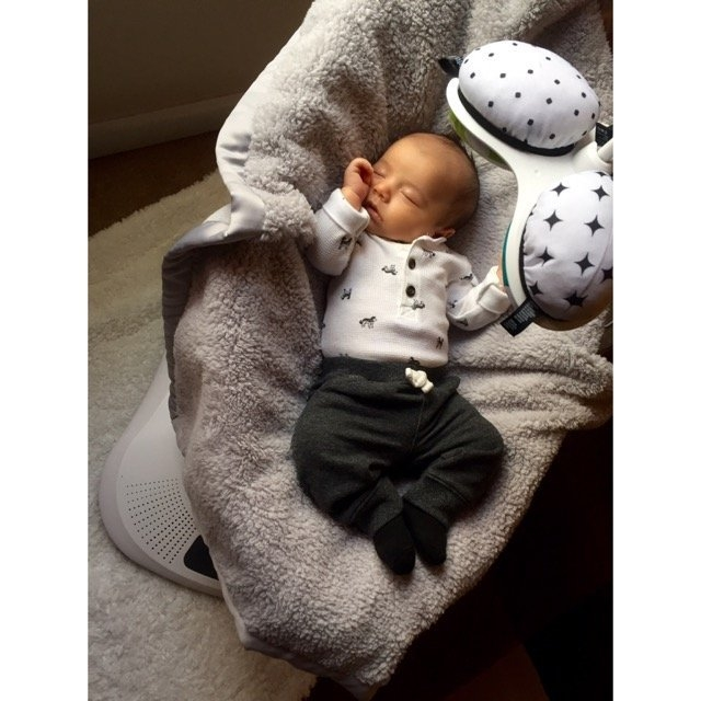 4Moms MamaRoo Plush uploaded by Amber G.