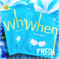 When Snow Magic Sheet Mask 0.8 oz uploaded by June D.