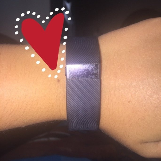 Fitbit - Charge Wireless Activity Tracker + Sleep Wristband (small) - Black uploaded by Brooke B.