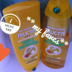Garnier Fructis Haircare Triple Nutrition Extra Nourishing Cream Fortifying Shampoo uploaded by Nathalie C.