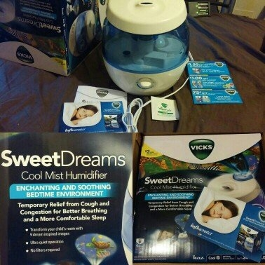 Vicks® Sweet Dreams Cool Mist Humidifier uploaded by Alicia L.