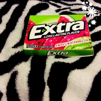 Wrigley's Extra Fruit Sensations Sweet Watermelon Sugarfree Gum uploaded by Jalissa J.