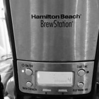 Hamilton Beach BrewStation Summit Ultra 12 Cup Coffeemaker (Model 48465) uploaded by amber n.