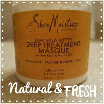 SHEAMOISTURE ORGANIC SheaMoisture Raw Shea Butter Deep Treatment Hair Masque, 6 fl oz uploaded by Kelly R.
