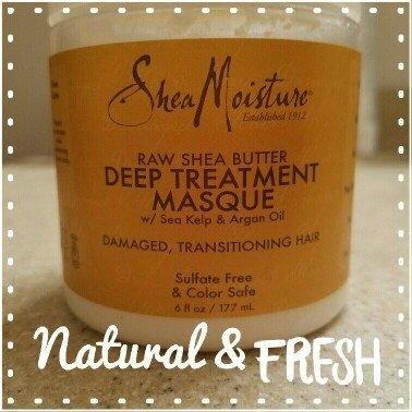 SHEAMOISTURE ORGANIC SheaMoisture Raw Shea Butter Deep Treatment Hair Masque, 6 fl oz uploaded by Kelly R.