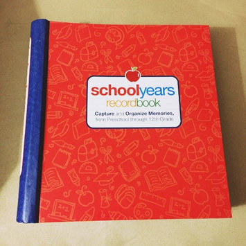 Photo of School Years: Record Book: Capture and Organize Memories from Preschool through 12th Grade uploaded by Kat S.