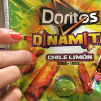 Doritos® Dinamita® Chile Limon  Flavored Rolled Tortilla Chips uploaded by cassandra o.