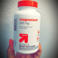 up & up up&up Magnesium 250 mg Tablets - 200 Count uploaded by KeiSha G.