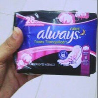 Infinity Always Radiant Overnight with wings scented Pads 11 count uploaded by Amanda B.