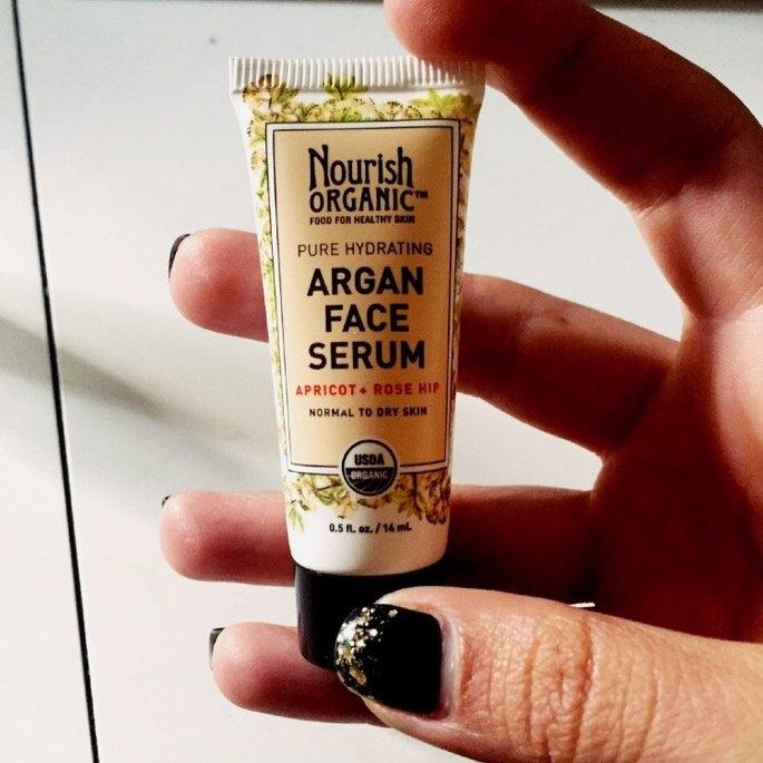 Nourish Organic Argan Face Serum Apricot + Rosehip uploaded by Melanie B.