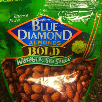 Photo of Blue Diamond® Bold Wasabi & Soy Sauce Almonds uploaded by Kara H.