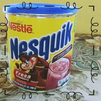Photo of Nesquik® Strawberry Flavor Powder uploaded by Paola T.