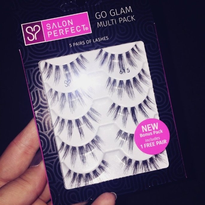 Salon Perfect Perfectly Natural Multi Pack Eyelashes, 615 Black, 4 pr uploaded by Elyssa W.