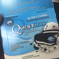 QUEST NUTRITION Cookies & Cream Protein Bars uploaded by Munch I.