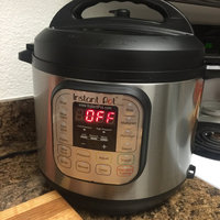 Instant Pot Company Instant Pot IP-DUO60 7-in-1 Programmable Pressure Cooker with Stainless Steel Cooking Pot and Exterior, 6-Quart/1000-watt, Latest 3rd Generation Technology uploaded by James C.