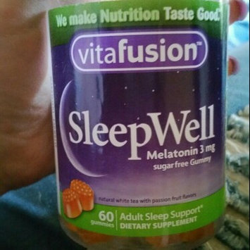 Vitafusion SleepWell Gummy Sleep Support for Adults uploaded by Melanie W.