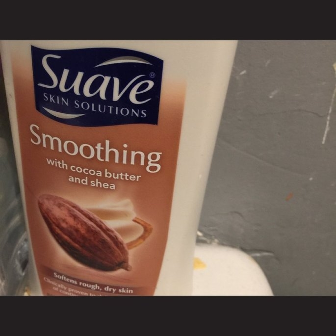 Suave® Skin Solutions Smoothing Body Lotion with Cocoa Butter & Shea uploaded by Sandra I.