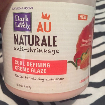 Photo of Dark and Lovely AU Naturale Anti-Shrinkage Curl Defining Creme Glaze uploaded by Aimee A.
