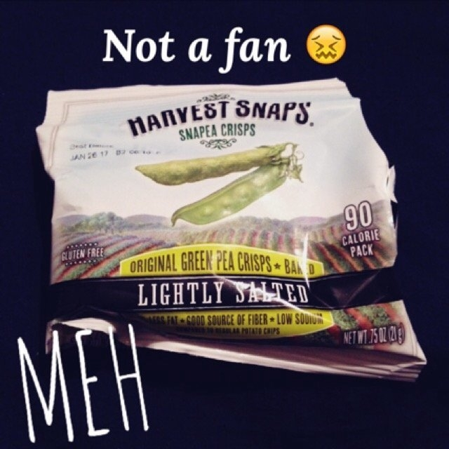 Harvest Snaps Snapea Crisps Lightly Salted uploaded by Megan M.