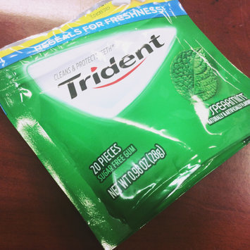Trident Spearmint Sugar Free Gum uploaded by Frances M.