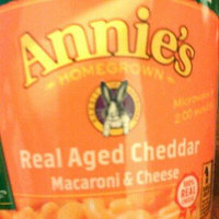 Annie's Homegrown Real Aged Cheddar Microwavable Mac & Cheese uploaded by Sarah L.