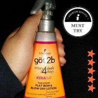 göt2b® CrazySleek Hot Smooth Flat Iron & Blow Dry Lotion uploaded by Faith C.