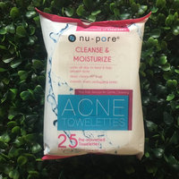 nu pore Nu-pore Acne Towelettes Moisturizing & Cleansing 30 Count in Each BOX (2 Pack) uploaded by Shay T.