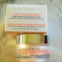 Vasanti Cosmetics EYE WONDER #1 Eye Treatment Cream - Triple Action, Clinically Proven Petptides & Botanicals Reduce Dark Circles, Puffiness, Wrinkles & More! 100% Paraben Free, Safe Anti-Aging, Huge 20mL! Boost Collagen, Look Younger uploaded by Ali R.