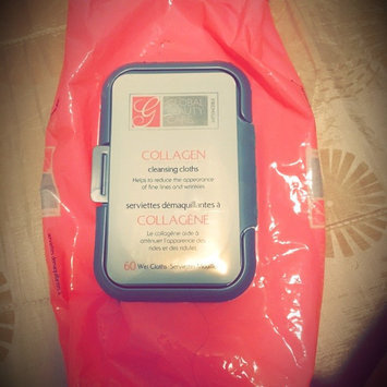 Photo of Global Beauty Care Premium Collagen Cleansing Cloths-60 Pack Wipes uploaded by Roseddy Piña D.
