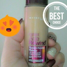 Maybelline Instant Age Rewind® Radiant Firming Makeup uploaded by Racquel C.