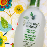 Johnson's® Natural Head-to-toe Baby Wash uploaded by Ally L.