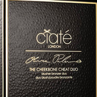 it's Ciaté London Olivia Palermo x Ciaté London The Cheekbone Cheat Blusher Bronzer Duo uploaded by Uyanga D.
