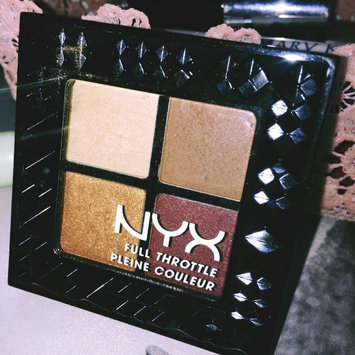 NYX Cosmetics Full Throttle Shadow Palette uploaded by Lucia L.