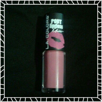 L.A. Colors Pout Matte Lipgloss, Kissable Matte, 0.14 oz uploaded by cindy g.
