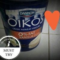 Dannon Oikos Greek Nonfat Yogurt Vanilla uploaded by Courtney M.