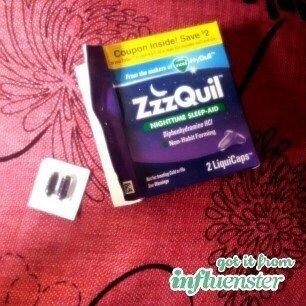 ZzzQuil Nighttime Sleep-Aid Liquid, Warming Berry uploaded by Thaissa R.