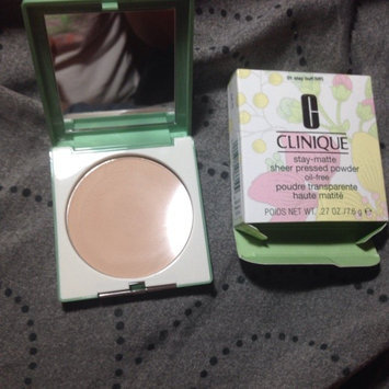 Photo of Clinique Stay-Matte Sheer Pressed Powder uploaded by Tiarra M.