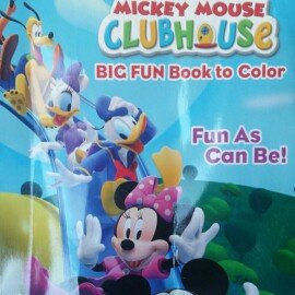 Photo of U.P.D. INC Mickey Mouse Clubhouse Big Fun Coloring Book uploaded by Tonya M.