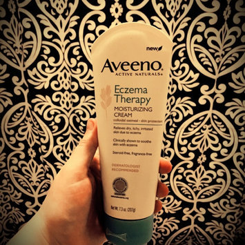 Photo of Aveeno Active Naturals Eczema Therapy Moisturizing Cream uploaded by Brittany P.