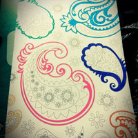 Paisleys: Coloring for Everyone uploaded by Honor B.