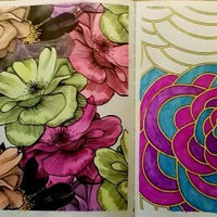 Posh Coloring Book: Vintage Designs for Fun & Relaxation uploaded by Liz J.