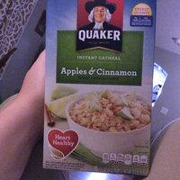 Quaker Life® Apples & Cinnamon Instant Oatmeal uploaded by Jillian M.