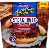 Ball Park® Steakhouse™ All Natural* Beef Flame Grilled Burger 14 oz. Stand Up Bag uploaded by Jen G.