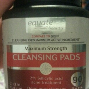 Equate Beauty Maximum Strength Cleansing Pads, 90 count uploaded by Kayla S.