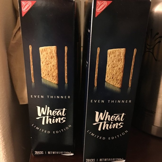Nabisco Wheat Thins Limited Edition Even Thinner Snacks 8.5 oz. Box uploaded by Wendy C.