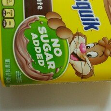 Photo of Nesquik Chocolate Mix No Sugar Added 16oz uploaded by Lucia G.