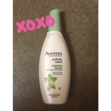 Aveeno Positively Radiant Cleanser uploaded by Peggy A.