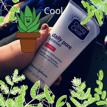 Photo of Clean & Clear® Oil-Free Daily Pore Cleanser uploaded by Kylee L.