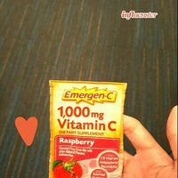 Emergen-C 1000mg Vitamin C, Raspberry uploaded by Francisca S.