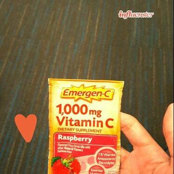 Photo of Emergen-C 1,000 mg Vitamin C Raspberry uploaded by Francisca S.